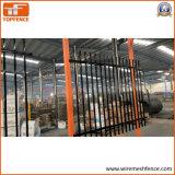 1,8 m x 2,35m de panneaux de clôture en acier tubulaire, panneaux de clôture de sécurité
