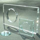 Vidro Tempered da alta qualidade para o edifício, indicador, porta de vidro, cerca (JINBO)