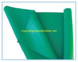 無毒な非臭いのPAHsの緑のゴム製シート