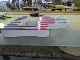 Shopping Mall Company Marque Sérigraphie Impression UV numérique Panneaux d'affichage acrylique colorés