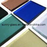 2-19mm 플로트 유리 (명확하고, 청동색, 진한 파란색, 진한 녹색, 어두운 회색, Eruo 회색, F 녹색, 분홍색)