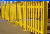 Galvanizado Hot-Dipped Palisade valla de mástiles y torres