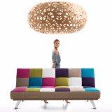 多彩なデザイン居間家具によって折られるファブリックソファーベッド