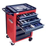 Tool de aço Cabinets com Wheels, Steel Drawer Work Bench