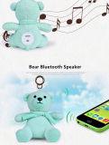 2018 Nouveau produit peu de musique de l'ours Mini haut-parleur Bluetooth, haut-parleur Bluetooth sans fil portable pour fille