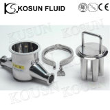 Stainless Steel Industrial Hygienic Liquid Powder Pipeline Magnetic Trap