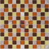 De rode Tegel van het Mozaïek van het Glas van de Mengeling van de Steen (CS123)