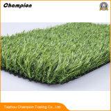 プラスチックポリエチレンによってカールされる人工的な草の製造業者、テニスコートの人工的な草