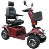 4 de wielen 800W handicapten de Dubbele Elektrische Autoped van de Zetel