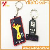 Silicone molle a buon mercato personalizzato Keychain del PVC di alta qualità per la decorazione