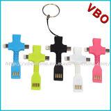 2 in 1 USB-Aufladeeinheits-Kabel für iPhone 6, Samsung-Galaxie