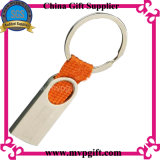 Keyring em branco do metal com o presente de Keychain do metal