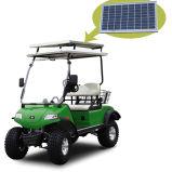carrello fuori strada elettrico di caccia 2-Seat con il comitato solare