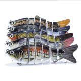 Attrait dur d'attrait noueux de cinq parties de pêche