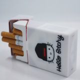 OEM hizo única carcasa impermeable Silicome Wholesale caja de cigarrillos