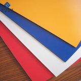 Certificado ISO reflejos de luz la hoja de material compuesto de aluminio ACP