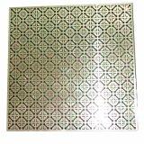 Het kleur Met een laag bedekte Aluminium Geperforeerde Blad van het Scherm van het Metaal