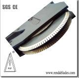 Rolling pneumatique automatique SKD11 D2 Dent HSS couteau scie pour la perforation de la machine de découpe de papier Papier hygiénique
