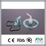 Masque médical nébuliseur jetable avec tubulure