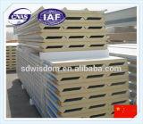 El panel de emparedado de calidad superior del poliuretano para el diseño de acero de la azotea