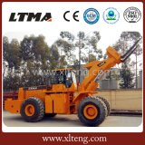 Ltma Ladevorrichtung 26 Tonnen-Vorderseite-Rad-Ladevorrichtung mit Gabel