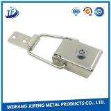 Carimbo de metal de precisão personalizado pressione as peças da caixa de travamento do cinto de segurança do Rolete de Estampagem