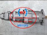 Bomba hidráulica del material de Japón y de engranaje de Technology~: 705-56-36050 para el cargador Wa320pz-6