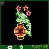 2D Seil-Beleuchtung-Motiv des Weihnachtenled