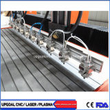 10 Chefes mobiliário em madeira gravura CNC máquina de corte 2500*2200mm