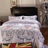 大人の寝具は綿贅沢な王寝室セットをセットする