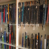 Индивидуальные Деревянные рукоятки автоматического откройте и закройте складной зонтик
