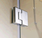 Дверь ливня двери шарнира конструкции изготовления на заказ для ванной комнаты (2018)