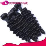 Оптовые волосы девственницы связывают глубокие волос бразильянина волны