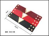 Wort-einfaches breites ledernes Handarmband des 2017 Frauen-Form-Knall-V