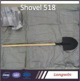Tête de haute qualité d'une pelle Luannan S518 avec manche en bois ou de fibre de verre Hnadle