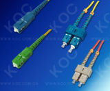 ScSc Multimode Om1 62.5/125um Duplex Fiber Optic Patch Cord