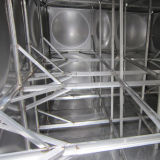 Structure interne de réservoir d'eau d'acier inoxydable
