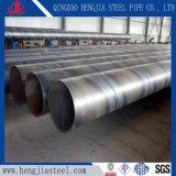 Tubo de acero soldado espiral de la ISO 3183 para el petróleo