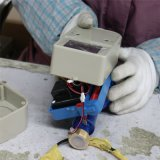Heißer Verkaufs-intelligentes frankiertes Wasser-Wohnmeßinstrument mit IS-Karte