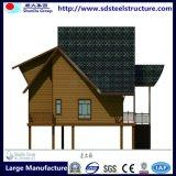 製造の低価格のモジュラー軽い鋼鉄別荘の建物の家