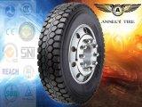 Pneu radial quente do pneumático 9.5r17.5 245/70r19.5 11r22.5 do caminhão da venda