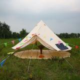 Wasserdichtes Baumwollsegeltuch-Rundzelt im Freien kampierendes Glamping Ereignis-Rundzelt