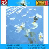 3-8 mm clair Verre à motifs océanique