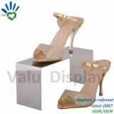 Gebildet im China-Metallspiegel-Einzelverkaufs-Schuh-Regal-Ausstellungsstand