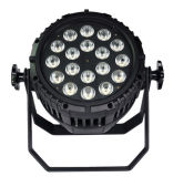 옥외 Waterproof IP65 18*15W Rgbwauv 6in1 LED PAR