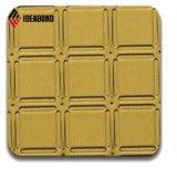 заводская цена золота металлического оттенка алюминиевую пластину (ID 012B)