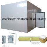 Quarto do congelador da casa do abate por painéis do isolamento da sala isolada