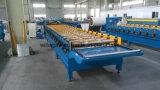 Rullo trapezoidale del tetto della lamiera di acciaio di colore di alta qualità che forma macchinario