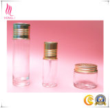 Diamond Cutting Cap를 가진 Baeuty Battern Transparent Glass Bottle
