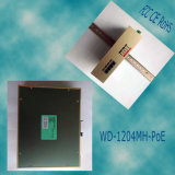 1200 Мбит/с промышленной Wd-1204mh-Poe Homeplug AV2 электросетевого Ethernet адаптера